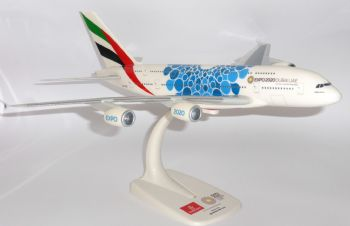 Airbus A380 Emirates Airline 2020 Expo Blue Collectors Model Scale 1:250 E